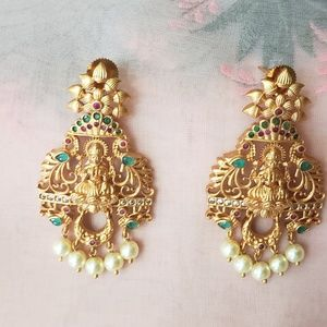 Indian traditional earrings jewelry